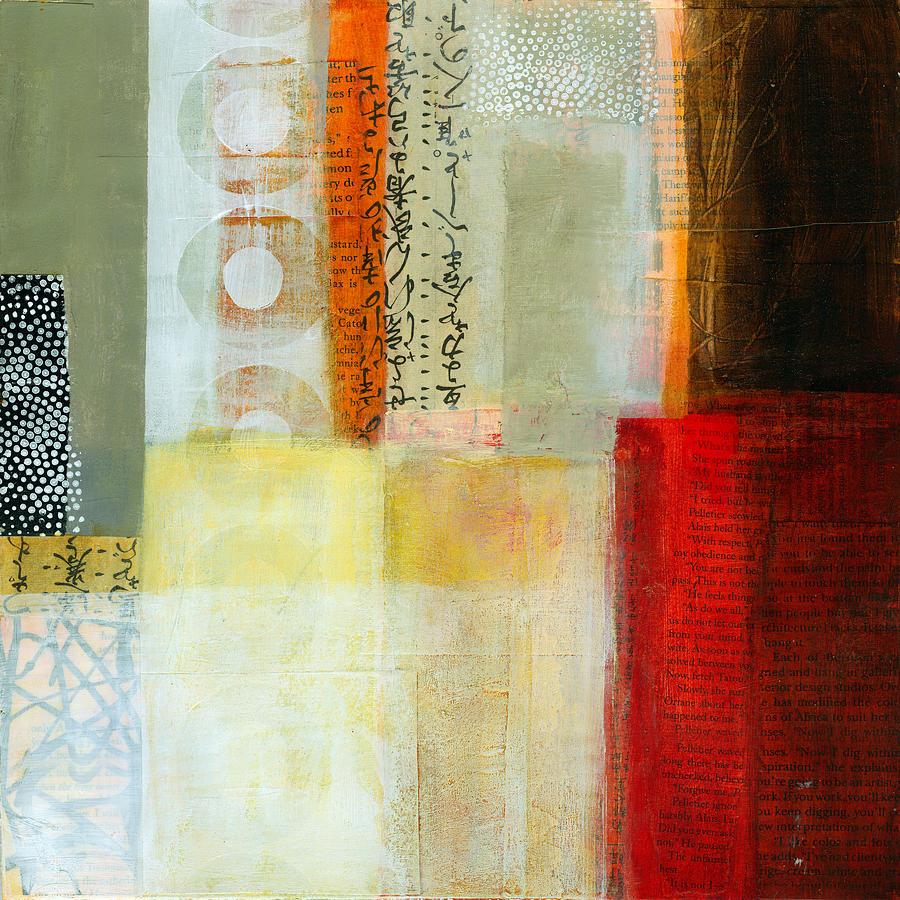Acrylic Painting - Edge Location 7 by Jane Davies