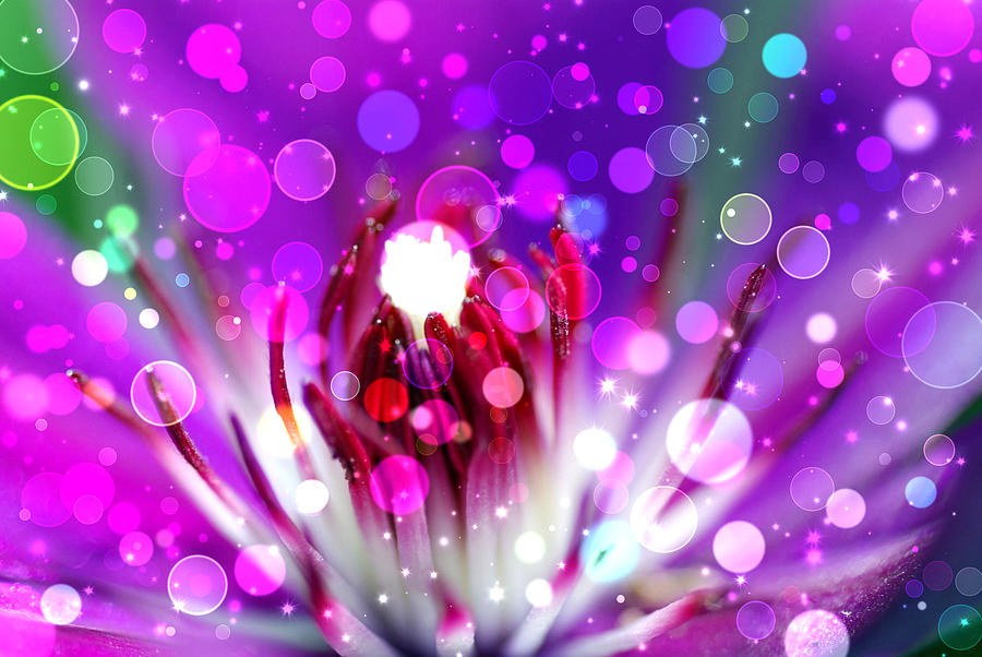Effervescent Digital Art  - Effervescent Fine Art Print