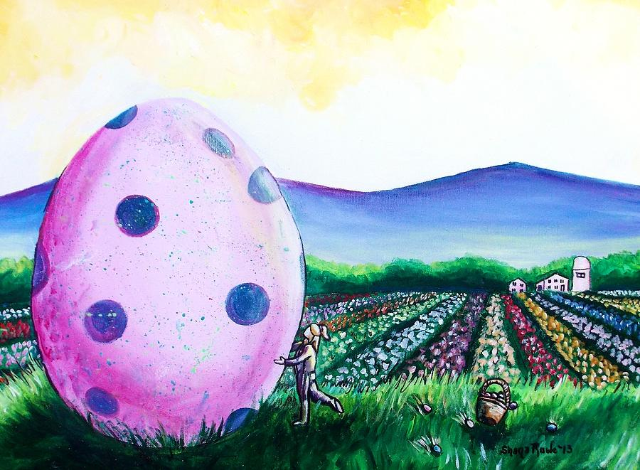 Eggstatic Painting  - Eggstatic Fine Art Print