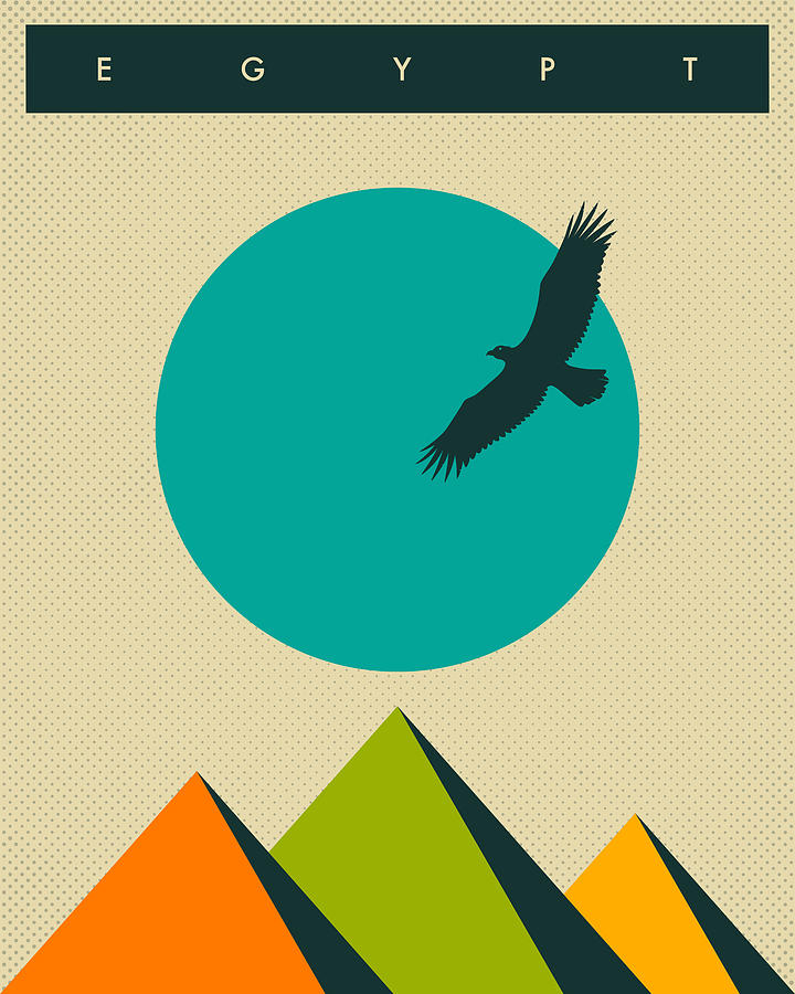 Egypt Travel Poster Digital Art
