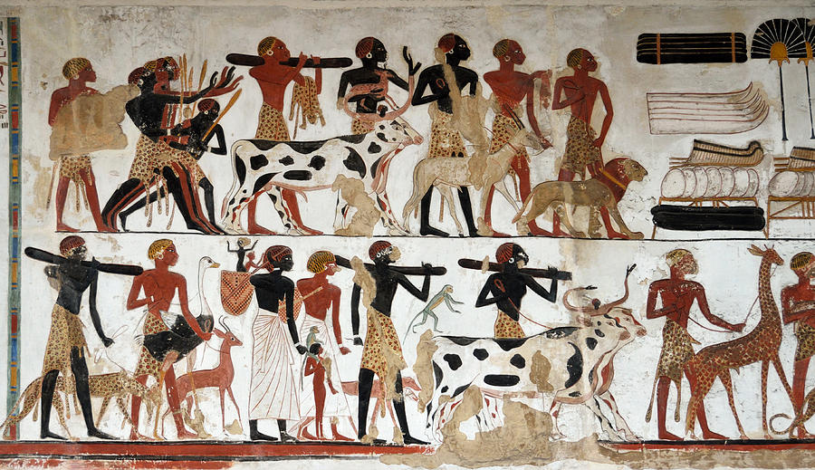 Kemet ancient egypt and its origins why so much for Egyptian mural art