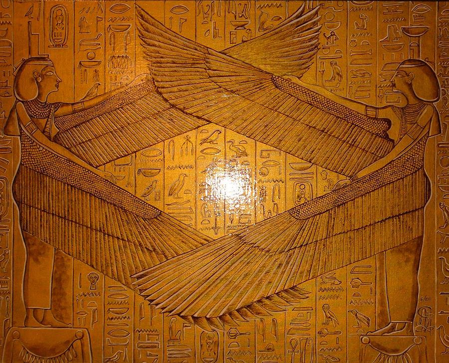 egyptian winged goddess - photo #22