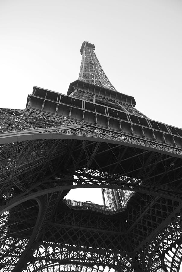 Eiffel Tower B/w Photograph  - Eiffel Tower B/w Fine Art Print