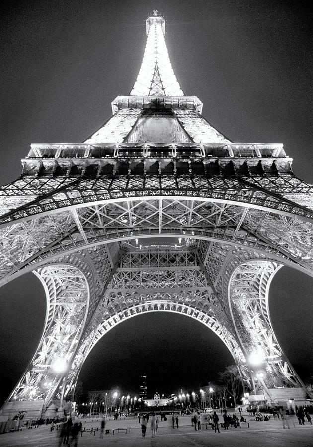 Paris Photograph - Eiffel Tower by John Gusky