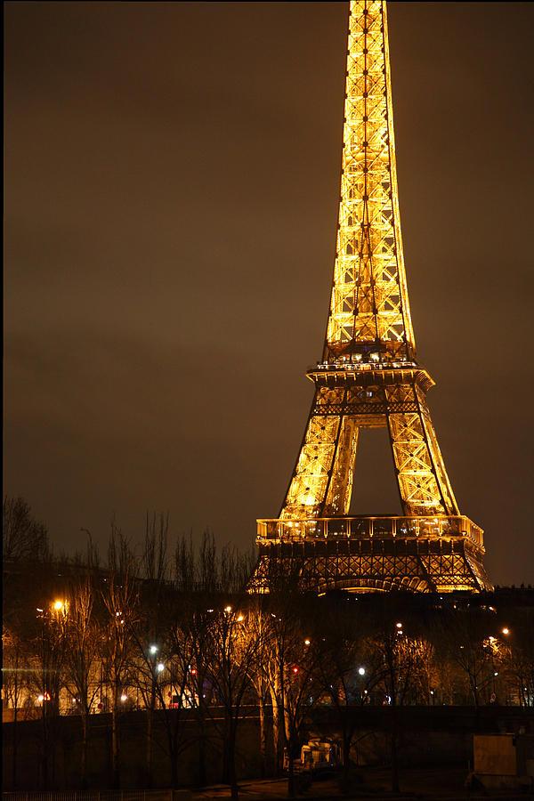 Antique Photograph - Eiffel Tower - Paris France - 011320 by DC Photographer