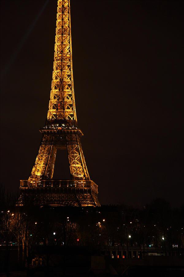 Antique Photograph - Eiffel Tower - Paris France - 011323 by DC Photographer