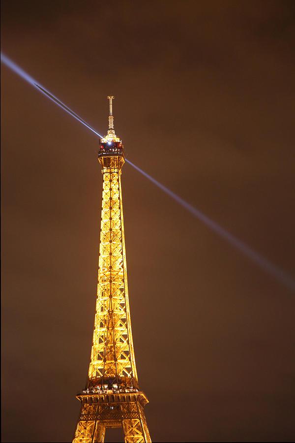 Eiffel Tower - Paris France - 011334 Photograph