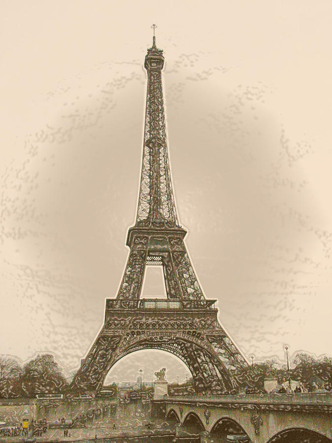 Eiffel Tower Vintage Images Frompo 1