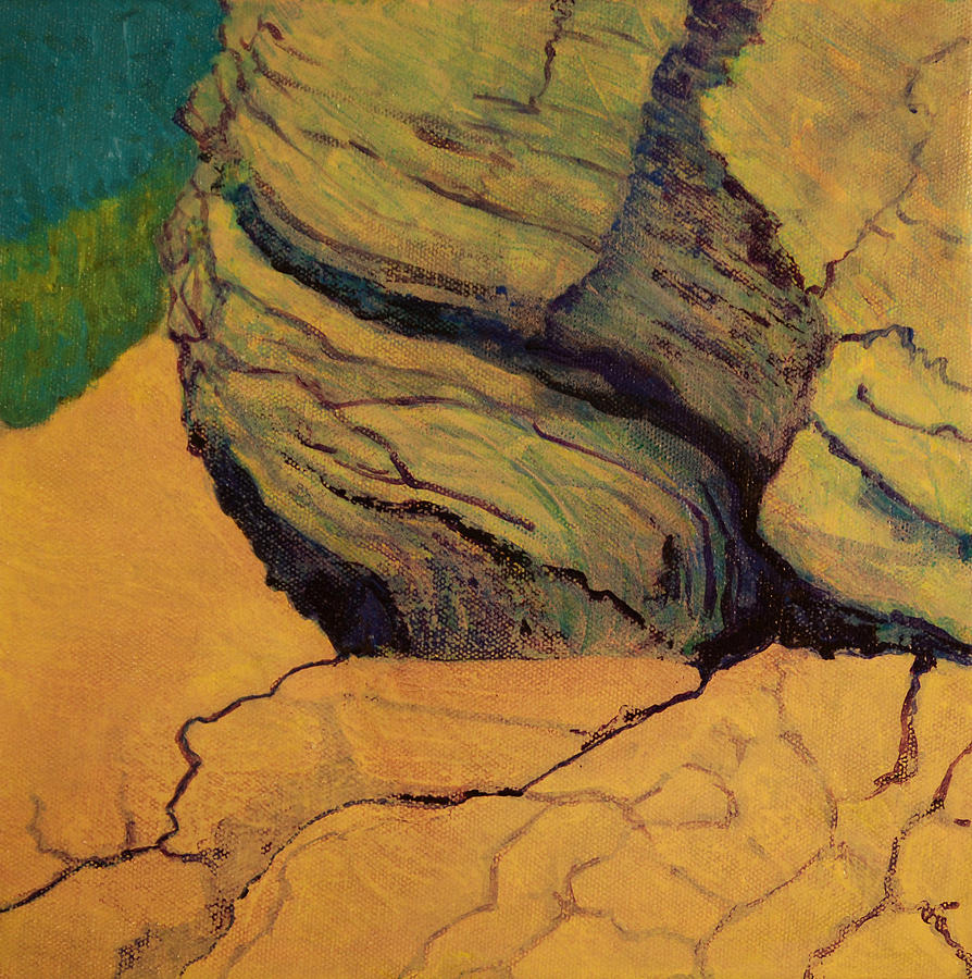 El Capitan Cliff Painting  - El Capitan Cliff Fine Art Print
