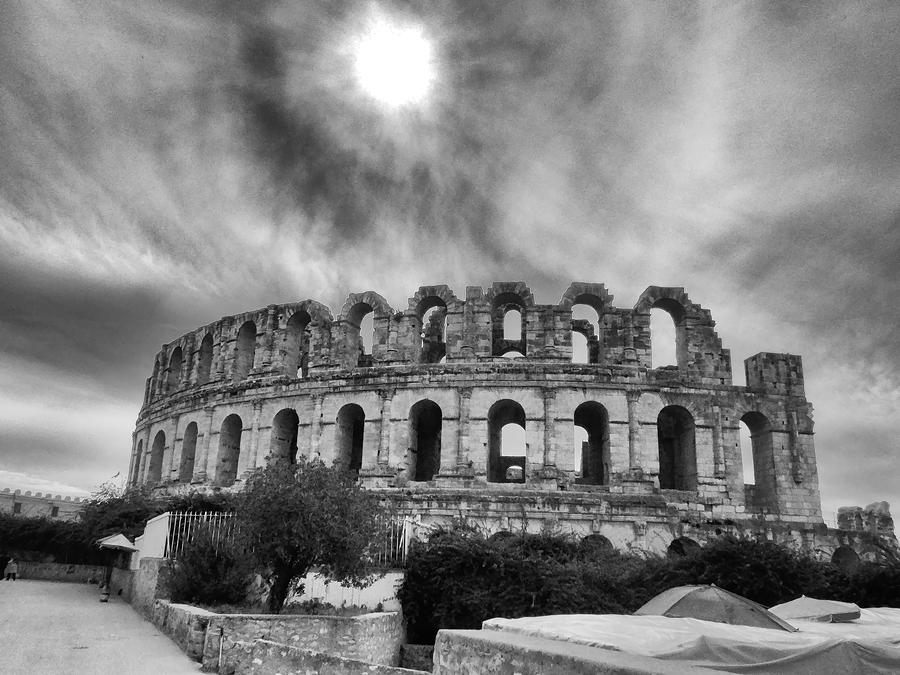 El Jem Colosseum 2 Photograph