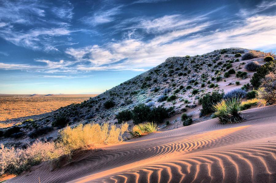 El Paso Blue Photograph