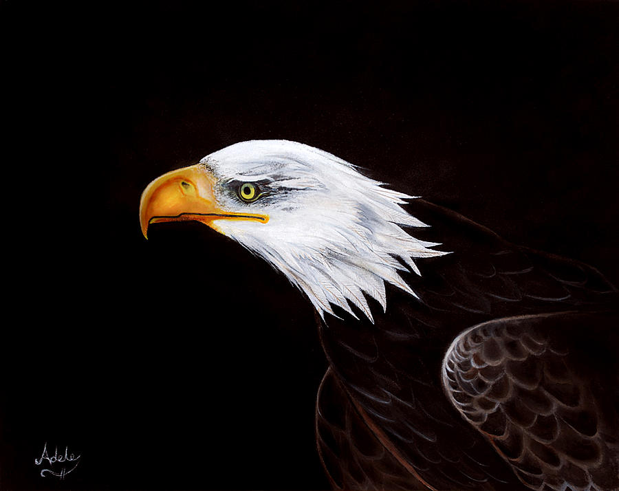 Eleanor The Eagle Painting