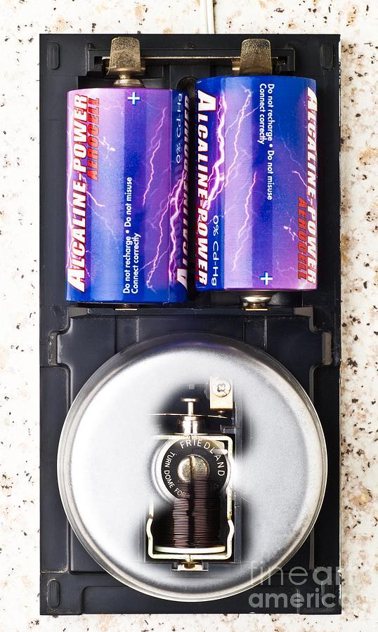 Electric Bell Mechanism Photograph