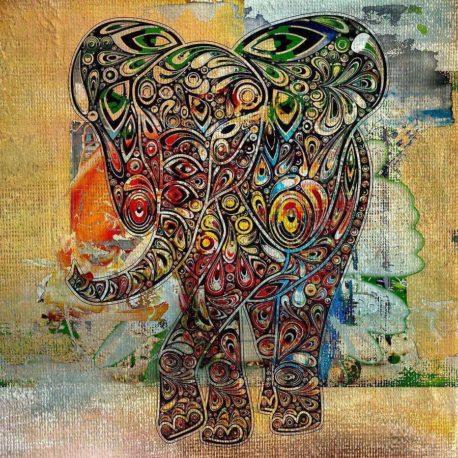 Elefantos - Co01at03 Digital Art