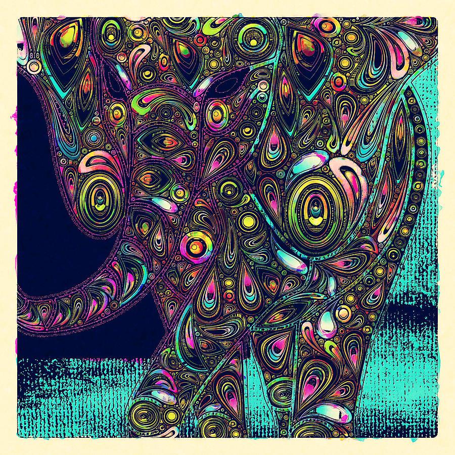 Elefantos - Ptjs01a Digital Art