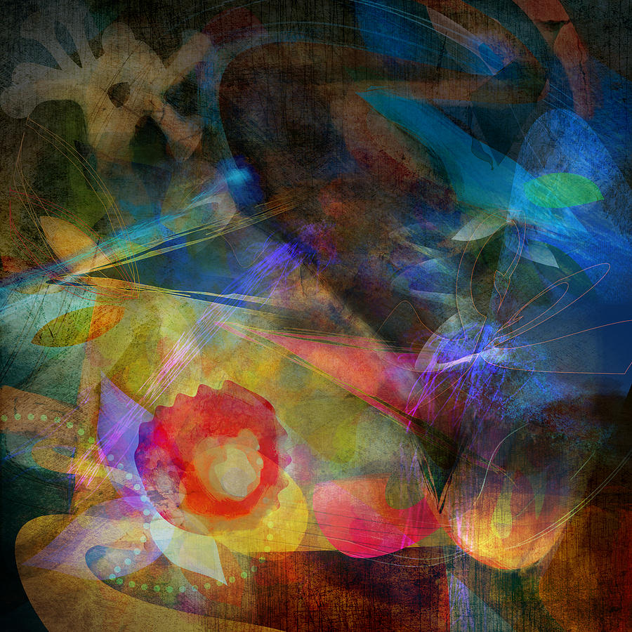 Elements II - Emergence Digital Art  - Elements II - Emergence Fine Art Print