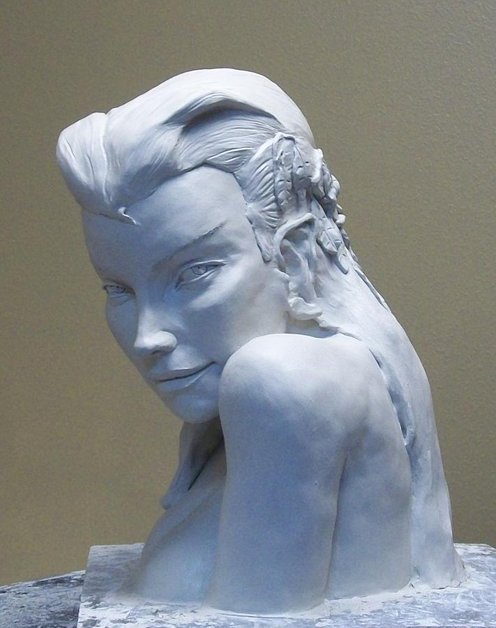 Elf Woman Sculpture