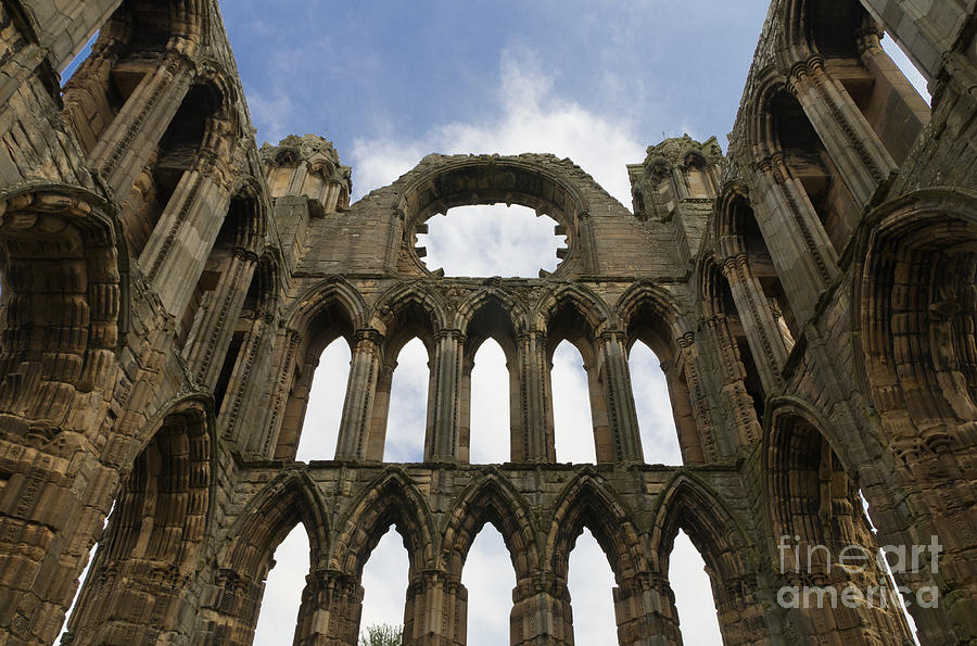 Elgin Cathedral Ruins Photograph
