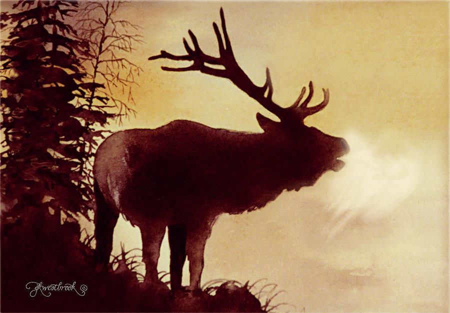 Elk Bugle by Jill West...