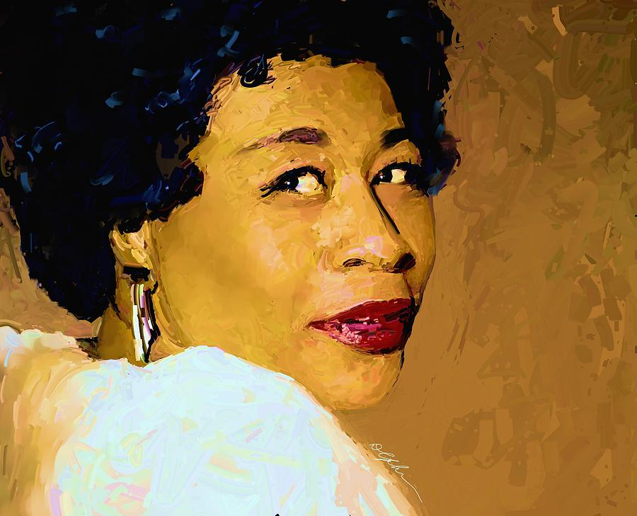 Ella Fitzgerald by Donna Johnson