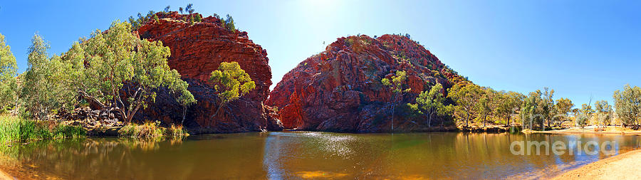 Ellery Creek Waterhole  Photograph