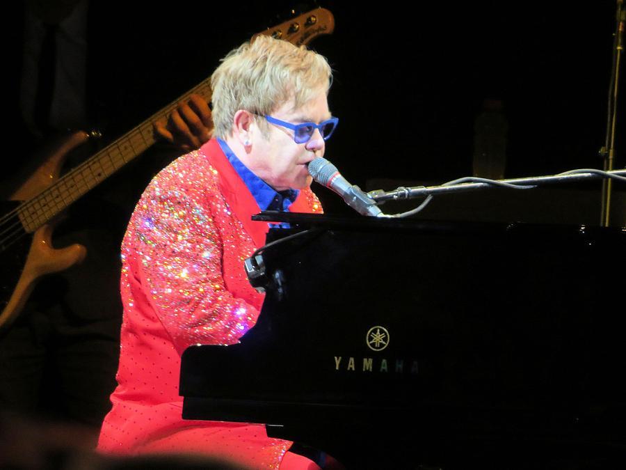 Elton John Live Photograph