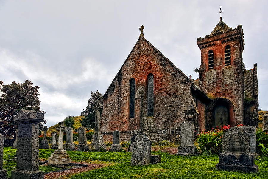 Elvanfoot Parish Church Photograph  - Elvanfoot Parish Church Fine Art Print