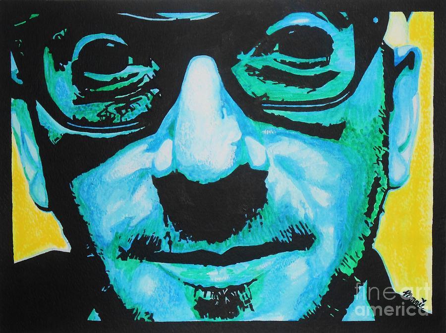 Portrait Mixed Media - Elvis Costello by Bonnie Cushman