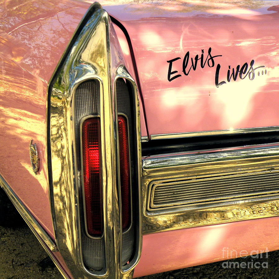 Elvis Lives Photograph  - Elvis Lives Fine Art Print