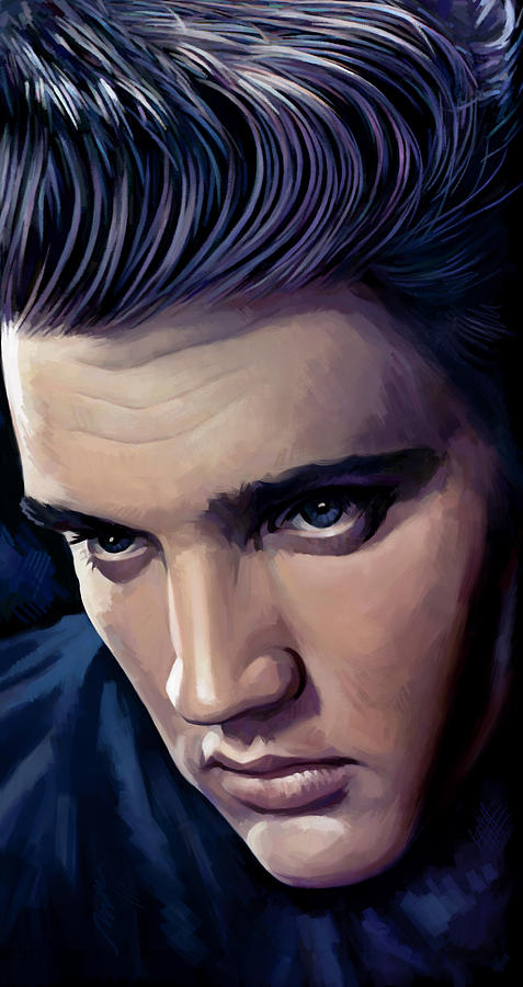 Elvis Presley Artwork 2 Painting