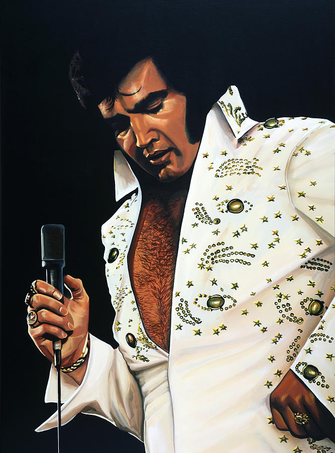 Elvis Presley Painting