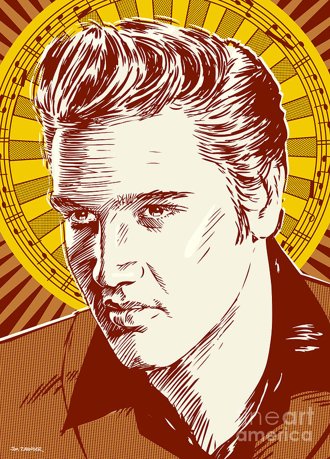 Elvis Presley Pop Art Digital Art