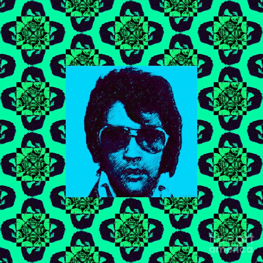 Elvis Presley Window P128 Photograph