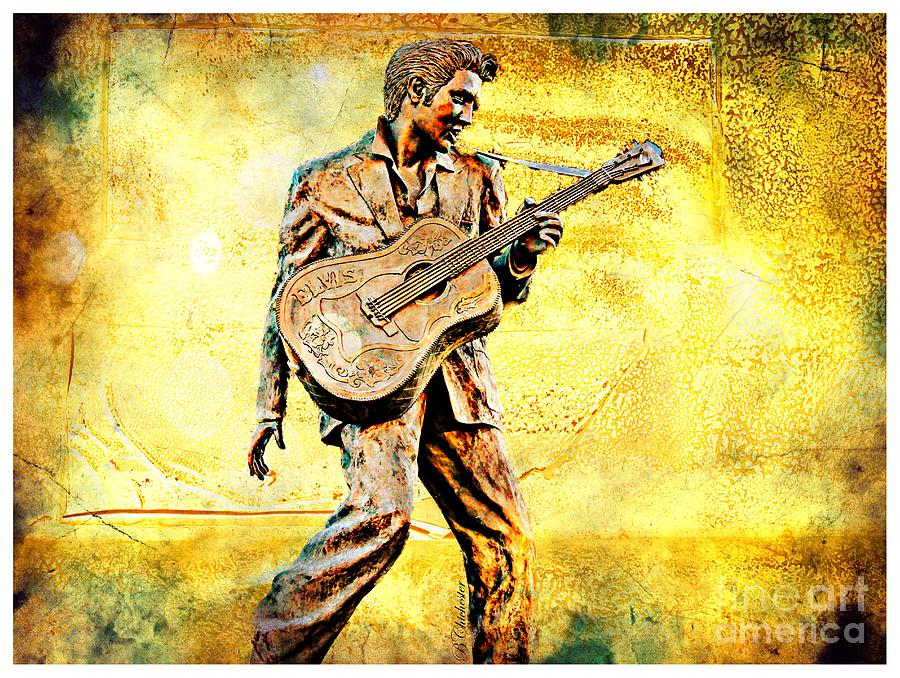 Elvis Solid Gold In Memphis  Photograph