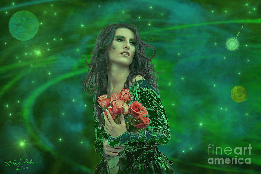 Emerald Universe Digital Art