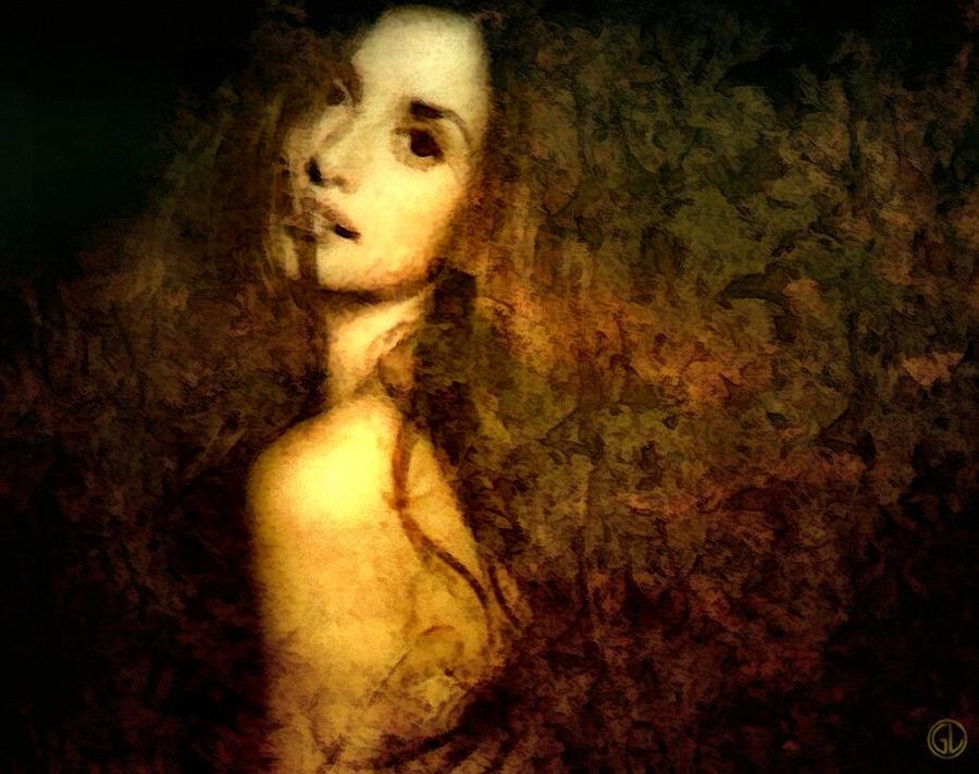 Woman Digital Art - Emerging by Gun Legler