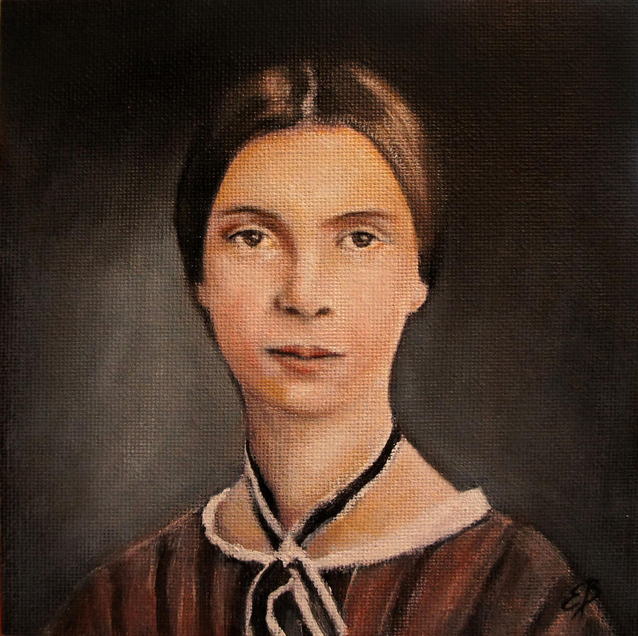 Emily Dickinson is a painting by Elizabeth Barrett which was uploaded ...