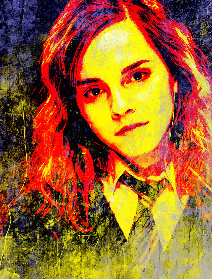 Emma Watson As Hermione Granger Digital Art