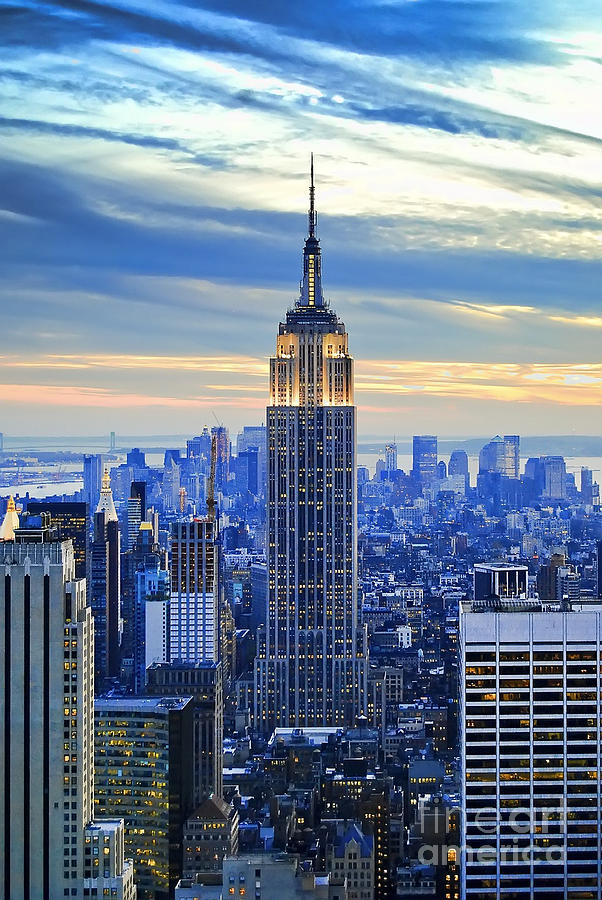 Empire State Building New York City Usa Photograph  - Empire State Building New York City Usa Fine Art Print