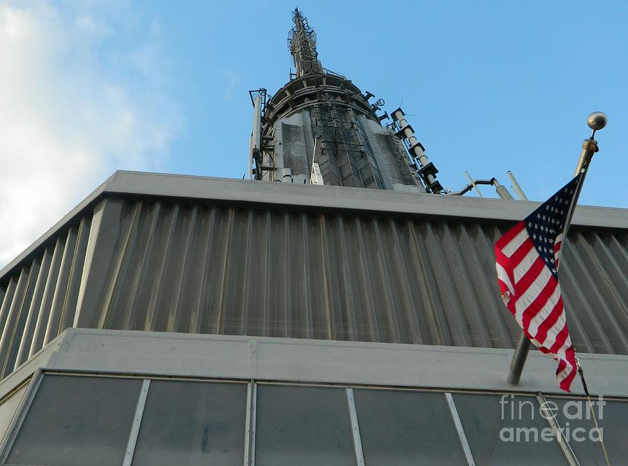 Empire State Building Point Of View Photograph