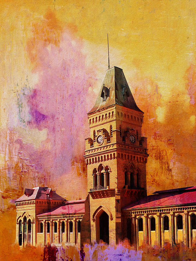 Empress Market Painting
