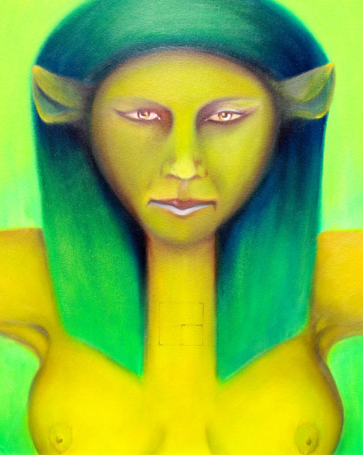 Major Arcana Painting - Empress by Roger Williamson