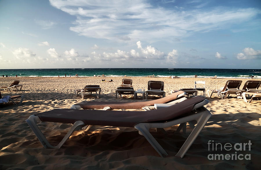 Empty Chair Photograph - Empty Chair by John Rizzuto