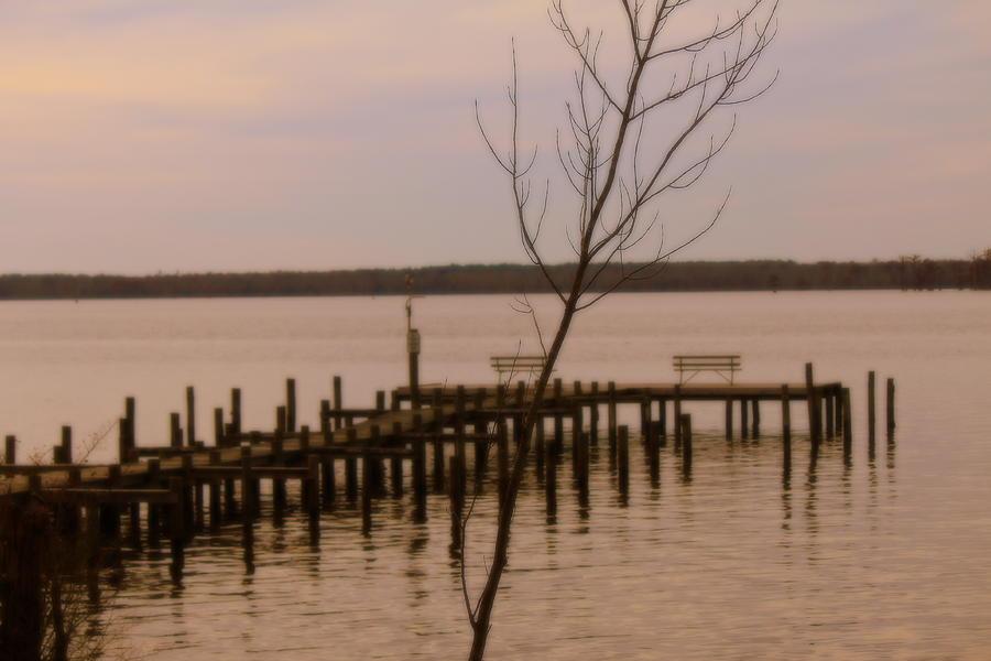 Empty Pier Photograph