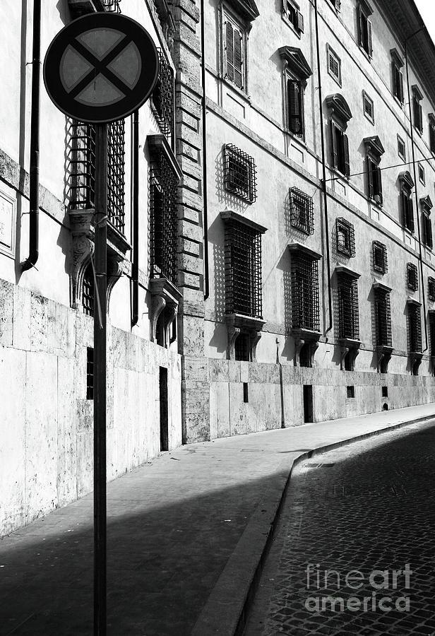 Empty Street Photograph