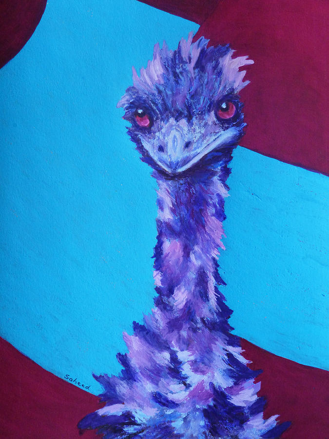 Emu Eyes Painting