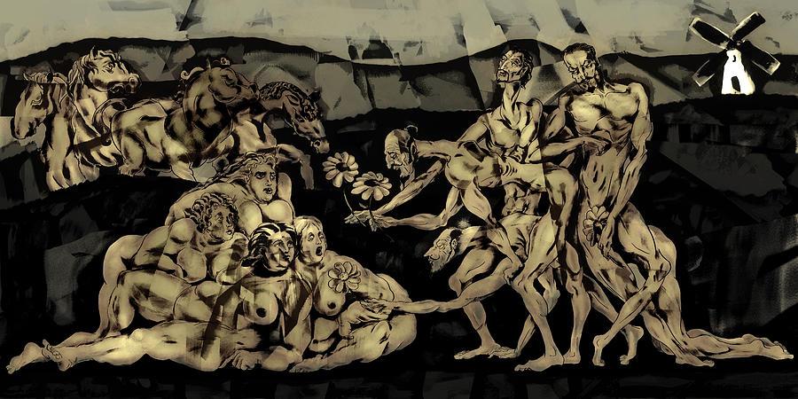 Conceptual Digital Art - En Un Lugar De La Mancha by Siyavush Mammadov