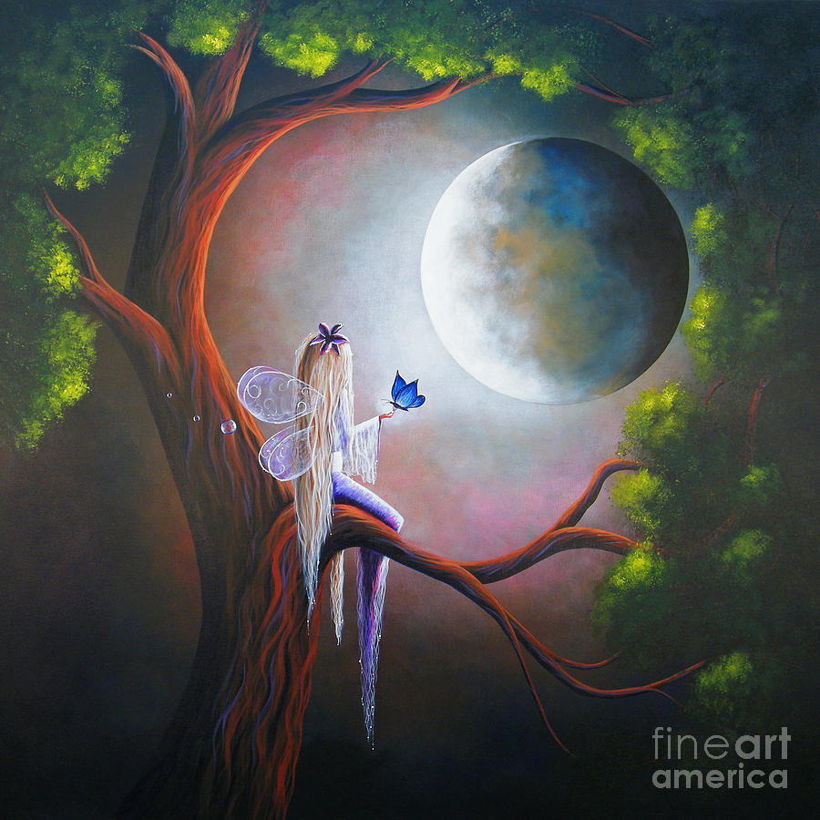 Enchanted Beginnings By Shawna Erback Painting  - Enchanted Beginnings By Shawna Erback Fine Art Print