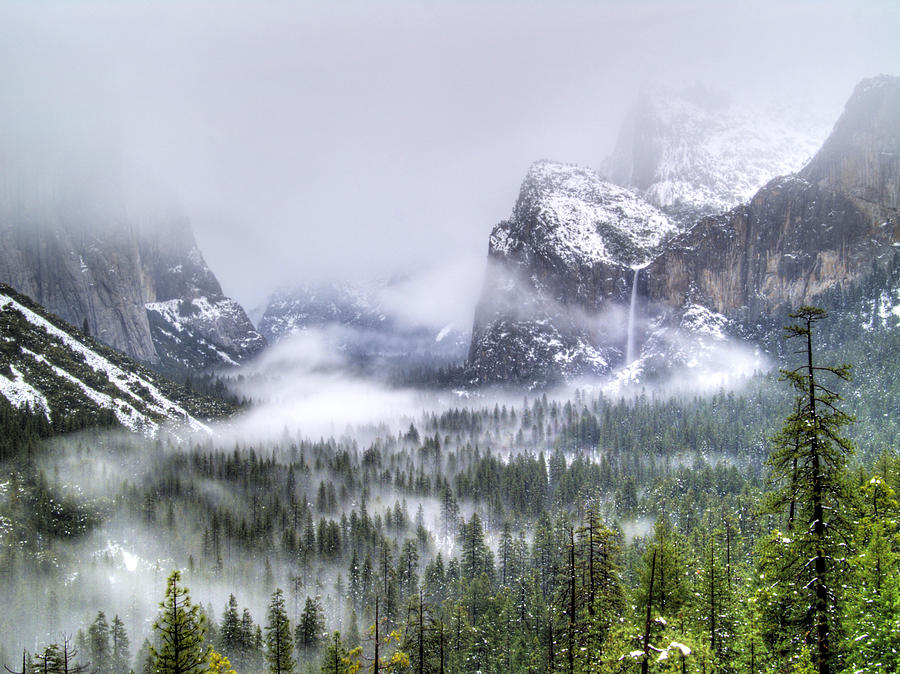 Yosemite Photograph - Enchanted Valley by Bill Gallagher