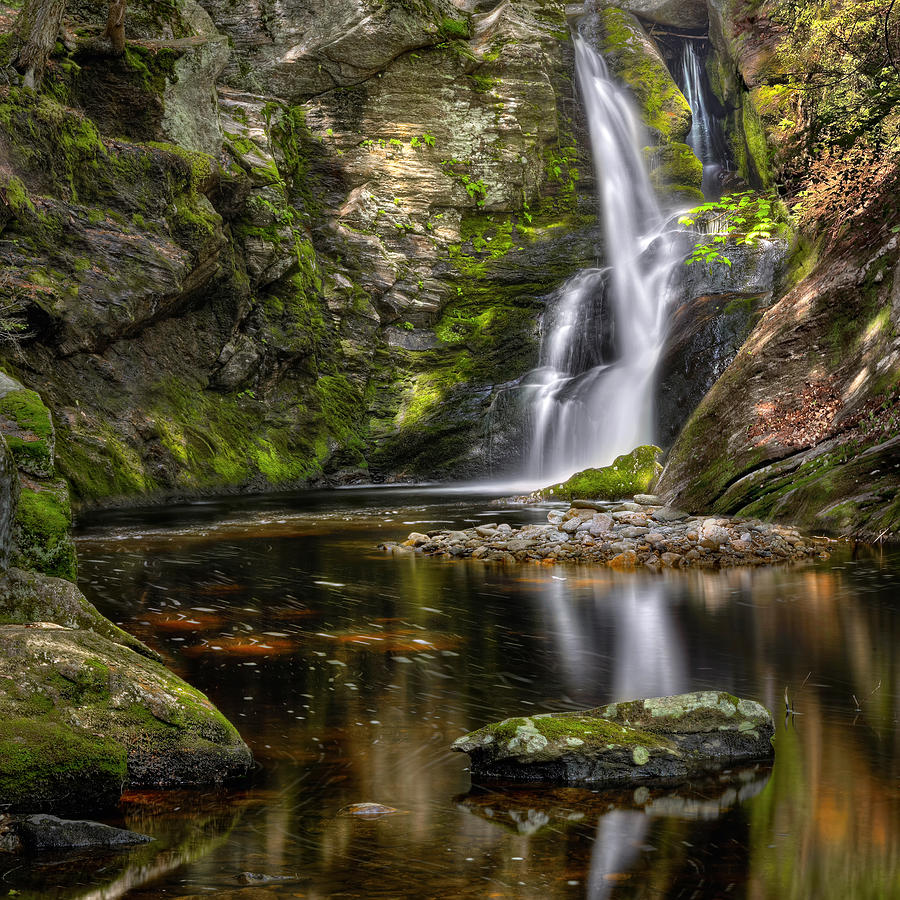 Waterfalls Photograph - Enders Falls by Bill Wakeley